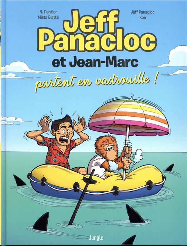 Couverture de Jeff Panacloc et Jean-Marc -2- Jeff Panacloc et Jean-Marc partent en vadrouille !