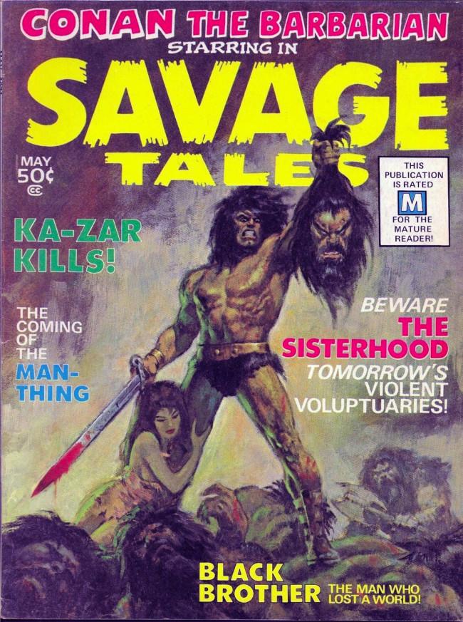 Couverture de Savage Tales (Marvel - 1971) -1- Savage Tales #1