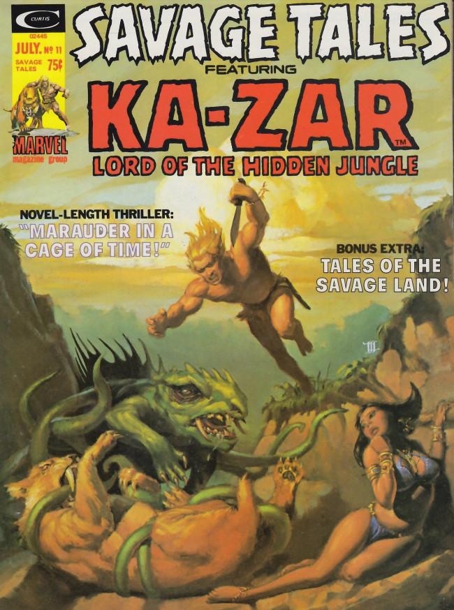 Couverture de Savage Tales (Marvel - 1971) -11- Savage Tales #11