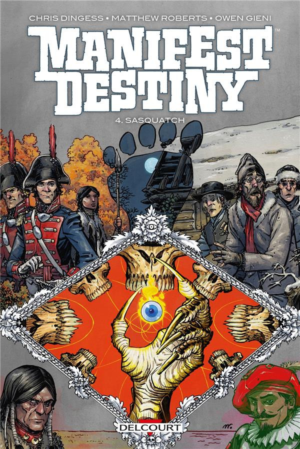 Couverture de Manifest Destiny -4- Sasquatch