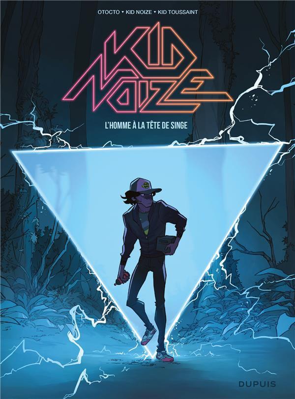 Couverture de Kid Noize -1- L'Homme à la tête de singe