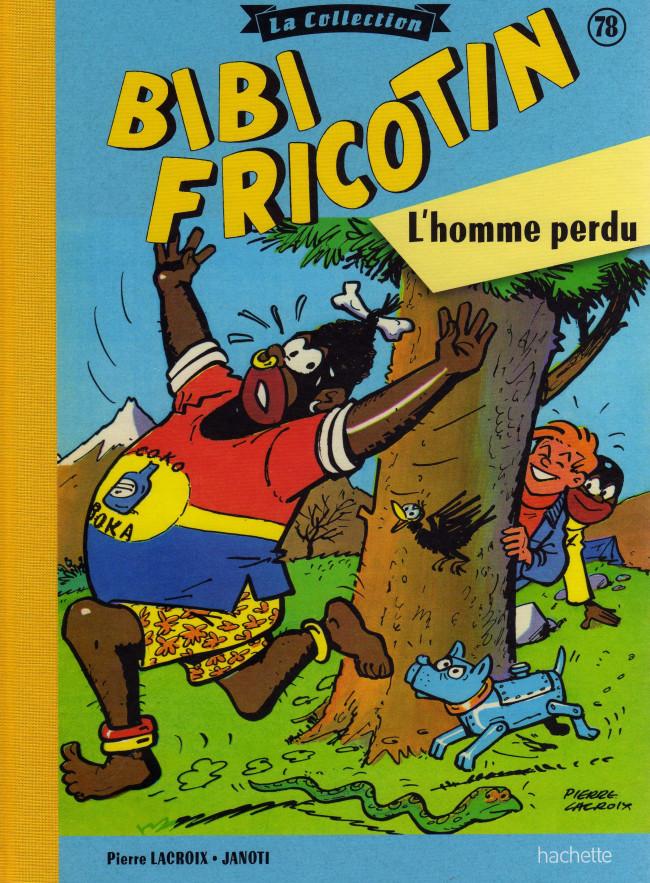 Couverture de Bibi Fricotin (Hachette - la collection) -78- L'homme perdu