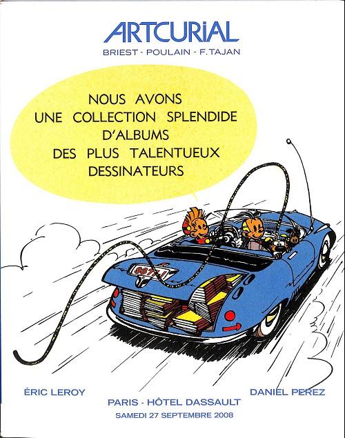 Couverture de (Catalogues) Ventes aux enchères - Artcurial - Artcurial - Samedi 27 septembre 2008 - Paris Hôtel Dassault