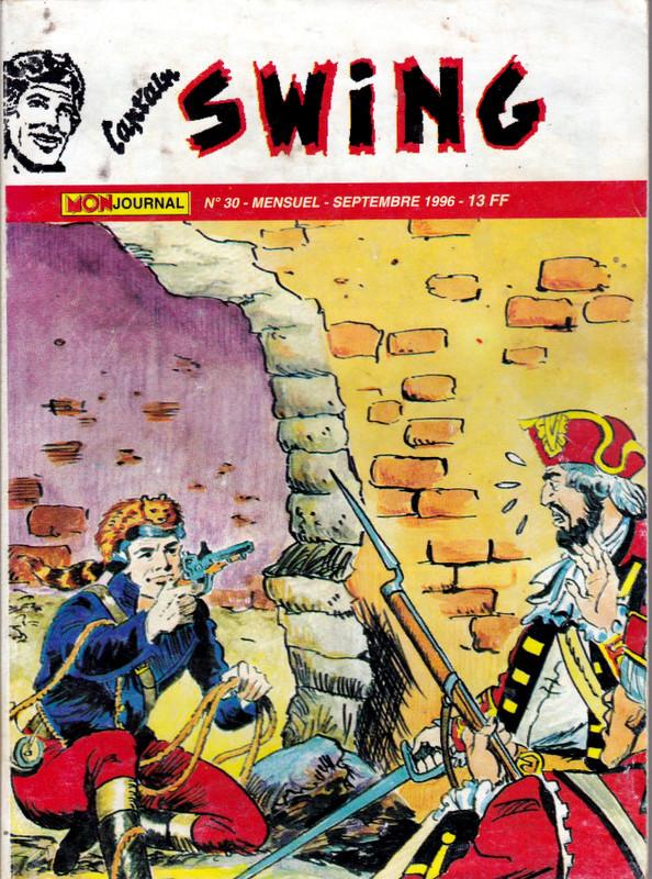 Couverture de Capt'ain Swing! (2e série - Mon Journal) -30- l'hyène de Sikawar