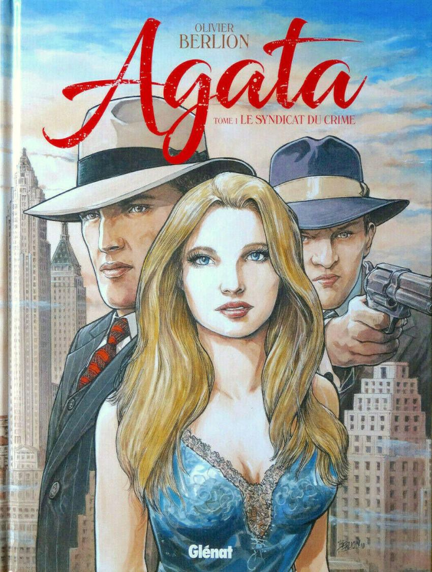 Couverture de Agata -1- Le syndicat du crime
