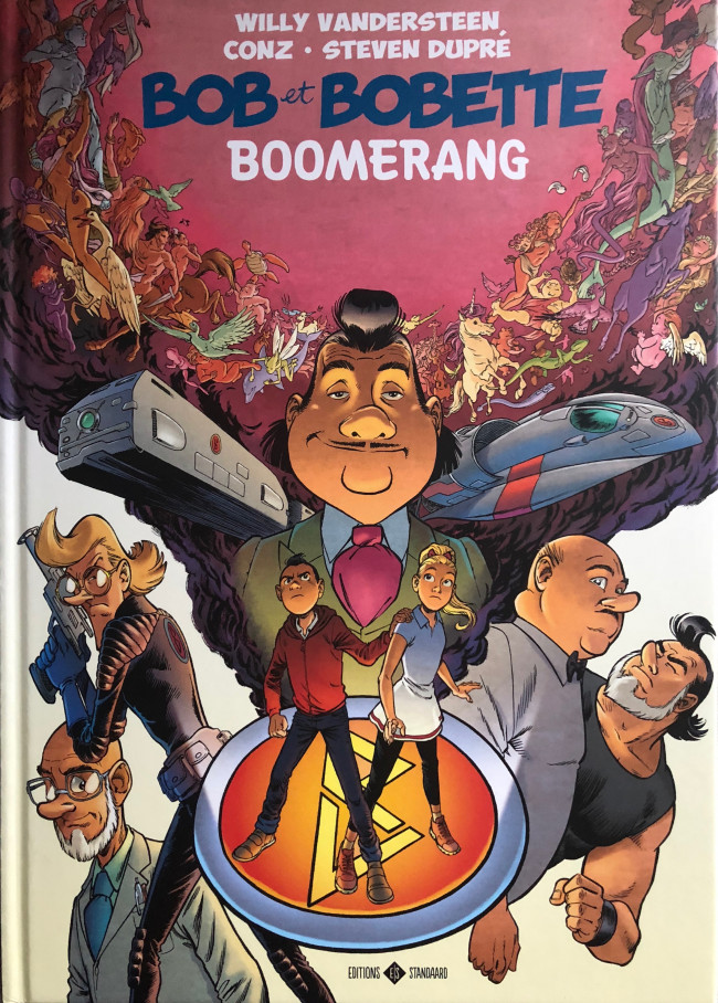 Couverture de Bob et Bobette (Dupré/Conz) - Boomerang