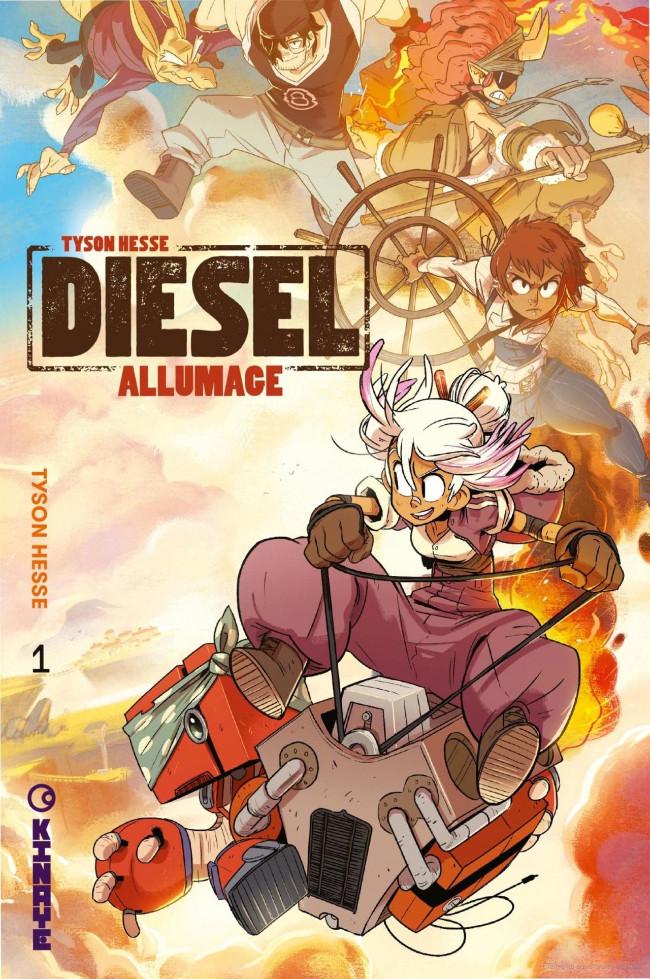 Couverture de Diesel -1- Allumage
