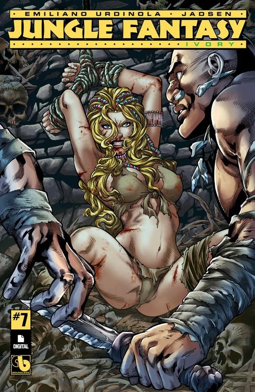 Couverture de Jungle Fantasy: Ivory (2016) -7- Issue 7