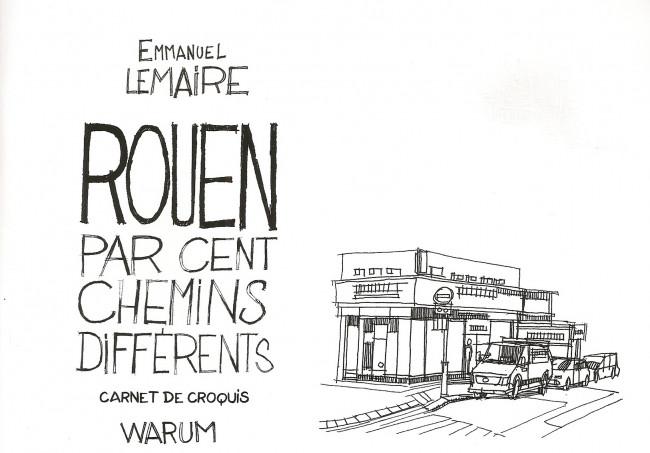 Couverture de Rouen par cent chemins différents -HS- Carnet de croquis