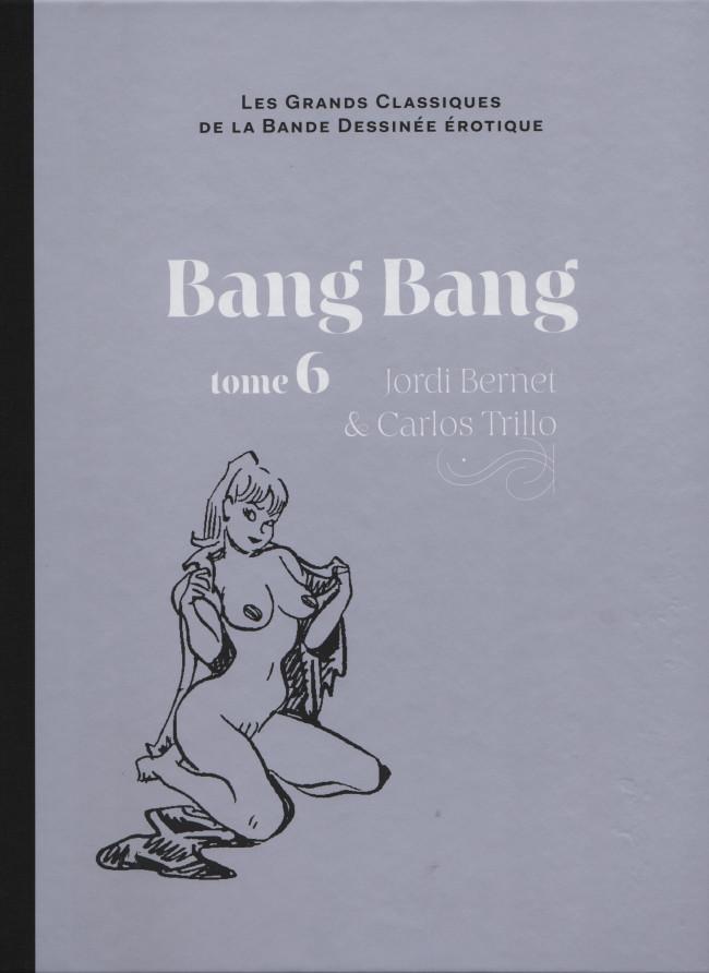 Couverture de Les grands Classiques de la Bande Dessinée érotique - La Collection -7130- Bang Bang - Tome 6