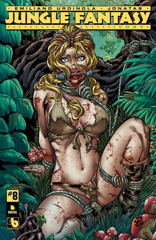 Couverture de Jungle Fantasy: Ivory (2016) -8- Issue 8
