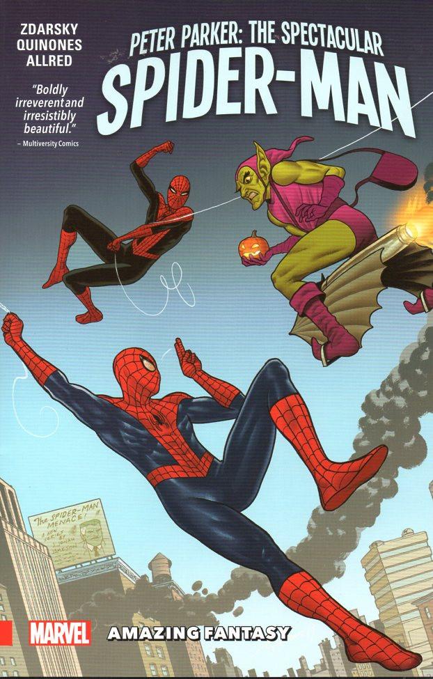 Couverture de Peter Parker: The Spectacular Spider-Man (2017) -INT03- Amazing Fantazy