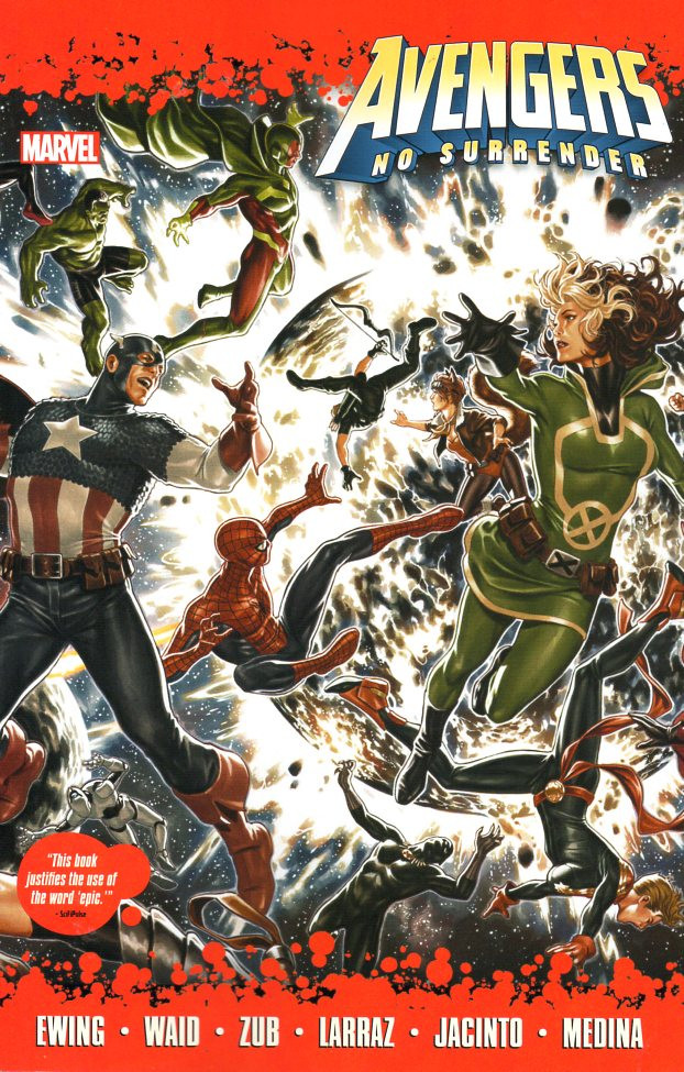 Couverture de Avengers Vol.7 (Marvel comics - 2017) -INT- No surrender