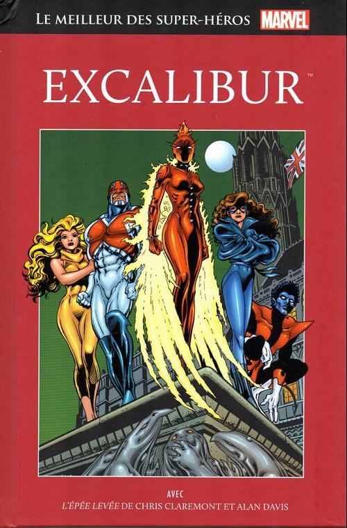 Couverture de Marvel Comics : Le meilleur des Super-Héros - La collection (Hachette) -76- Excalibur
