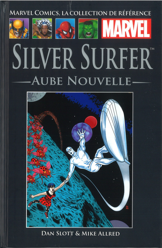 Couverture de Marvel Comics - La collection (Hachette) -12699- Silver Surfer - Aube Nouvelle