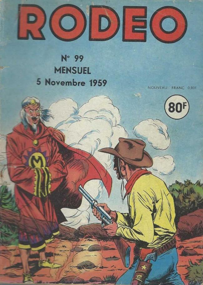 Couverture de Rodéo -99- Numéro 99