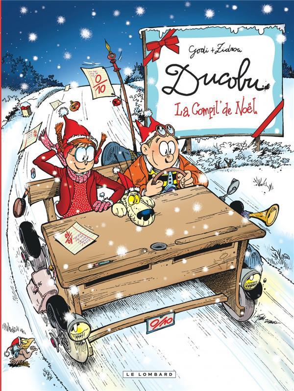 Couverture de L'Élève Ducobu -Compil- La compil' de Noël