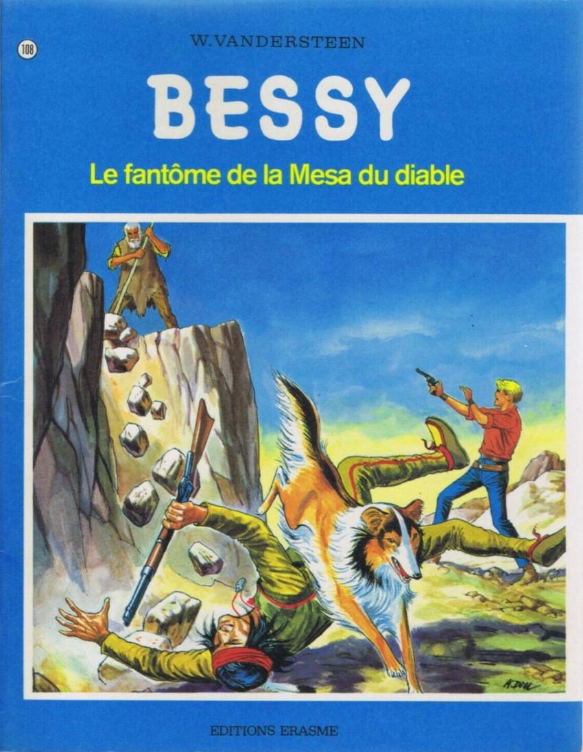 Couverture de Bessy -108- Le fantôme de la Mesa du diable