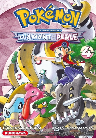 Couverture de Pokémon Diamant & Perle/Platine -4- Tome 4