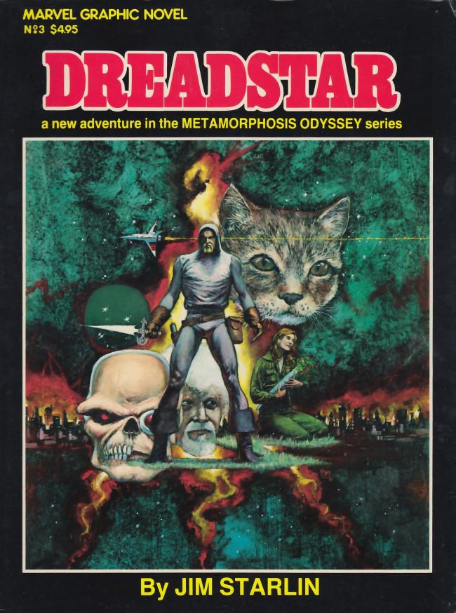Couverture de Marvel Graphic Novel (Marvel comics - 1982) -3- Dreadstar