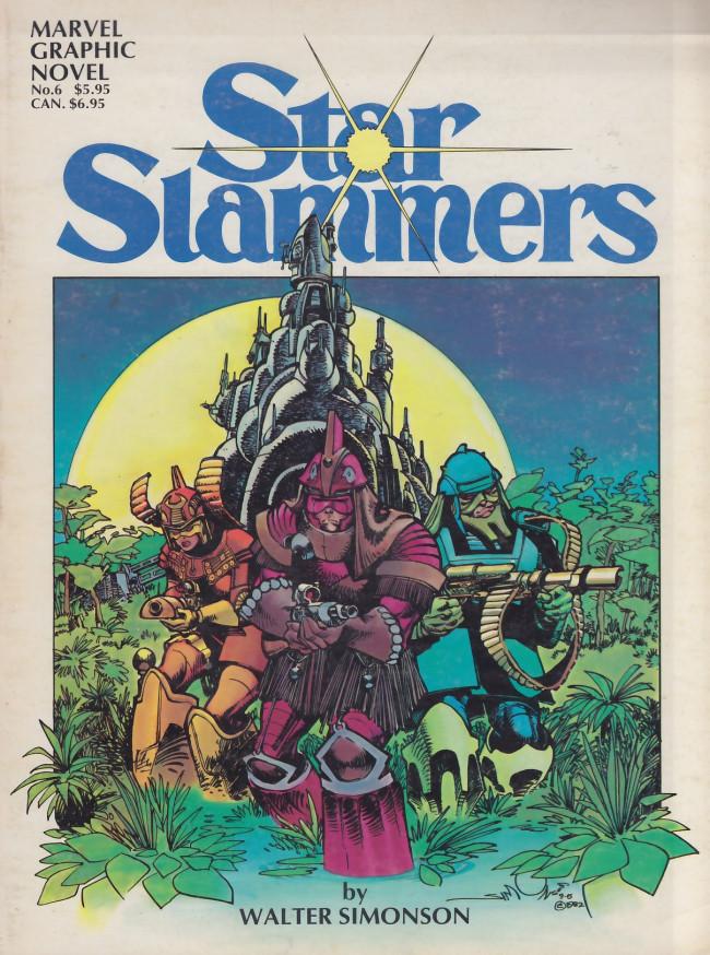 Couverture de Marvel Graphic Novel (Marvel comics - 1982) -6- Starslammers