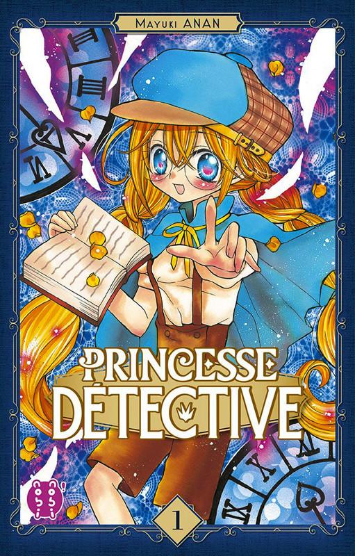 Couverture de Princesse détective -1- Tome 1