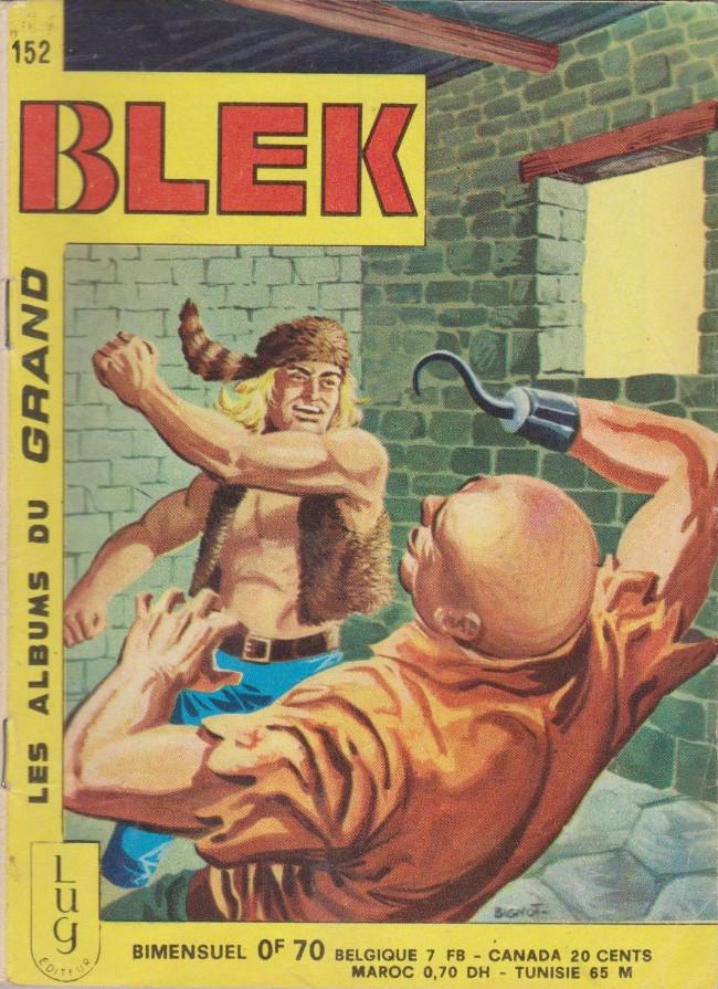 Couverture de Blek (Les albums du Grand) -152- Numéro 152