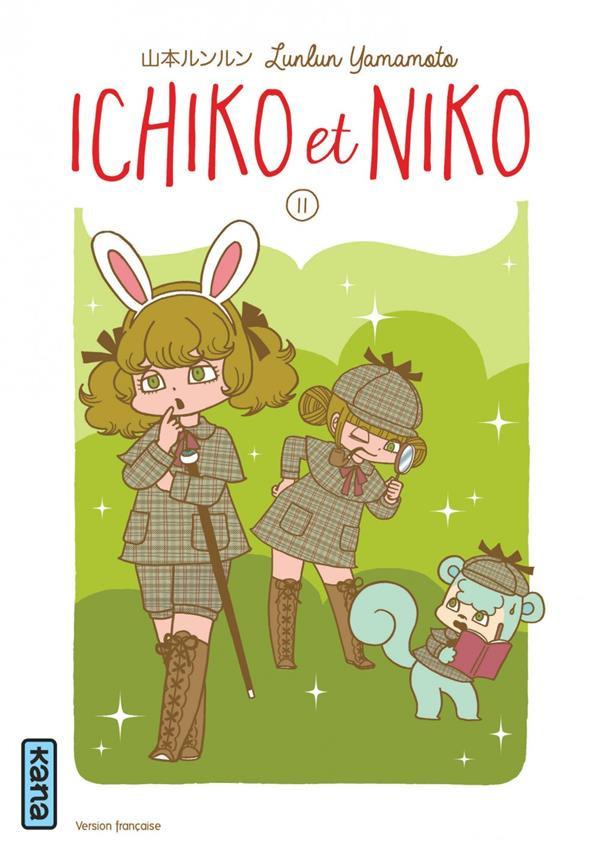 Couverture de Ichiko & Niko -11- Tome 11