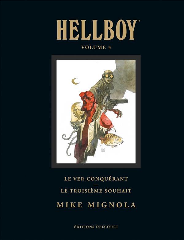 Couverture de Hellboy (Intégrale Deluxe) -3- Volume 3