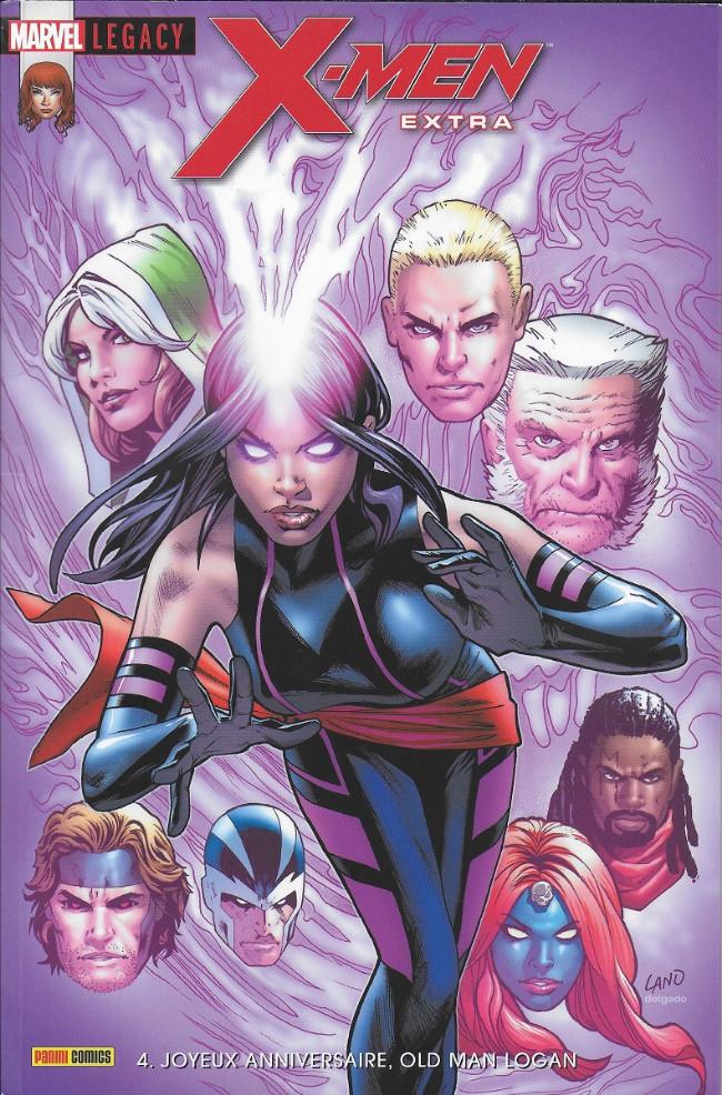 Couverture de Marvel Legacy - X-Men Extra (Marvel France - 2018) -4- Joyeux anniversaire,Old man Logan