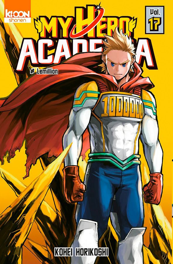Couverture de My Hero Academia -17- Lemillion