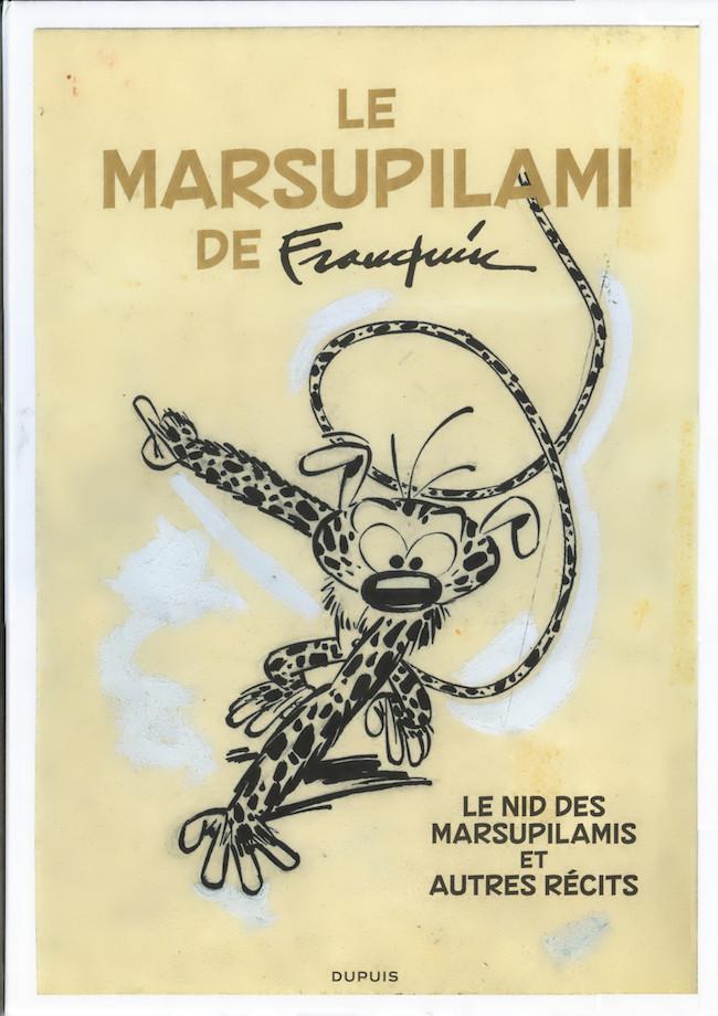 Couverture de Marsupilami -TL- Le Marsupilami de Franquin