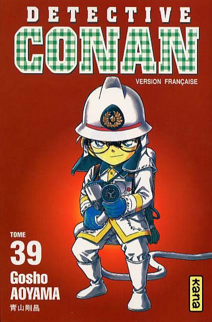 Couverture de Détective Conan -39- Tome 39