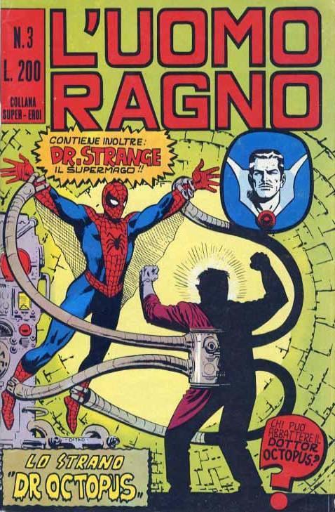 Couverture de L'uomo Ragno (Editoriale Corno) V1 -3- Lo strano Dr Octopus