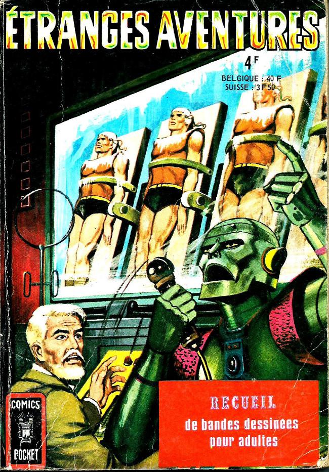 Couverture de Étranges aventures (1re série - Arédit) -Rec3073- Album N°3073 (n°17 et n°18)