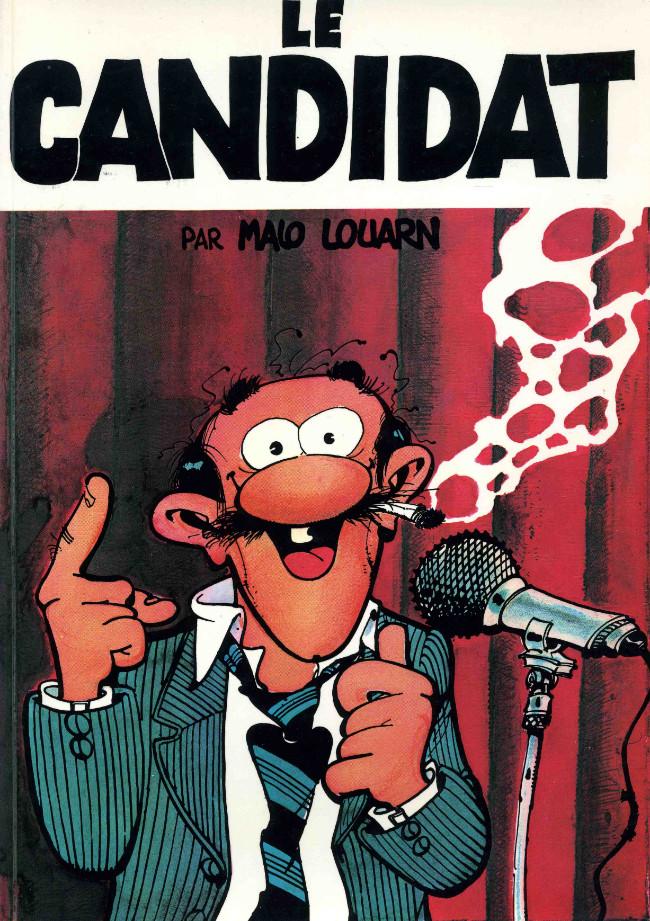 Couverture de Le candidat