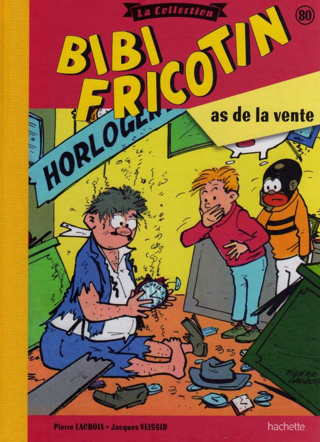 Couverture de Bibi Fricotin (Hachette - la collection) -80- Bibi Fricotin as de la vente