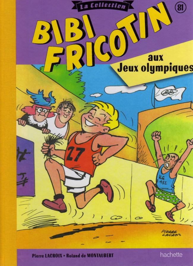 Couverture de Bibi Fricotin (Hachette - la collection) -81- Bibi Fricotin aux jeux olympiques