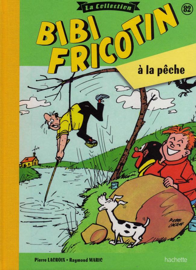 Couverture de Bibi Fricotin (Hachette - la collection) -82- Bibi Fricotin à la pêche