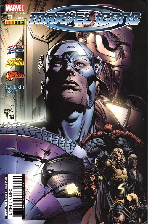 Couverture de Marvel Icons (Marvel France - 2005) -9- Partenaires