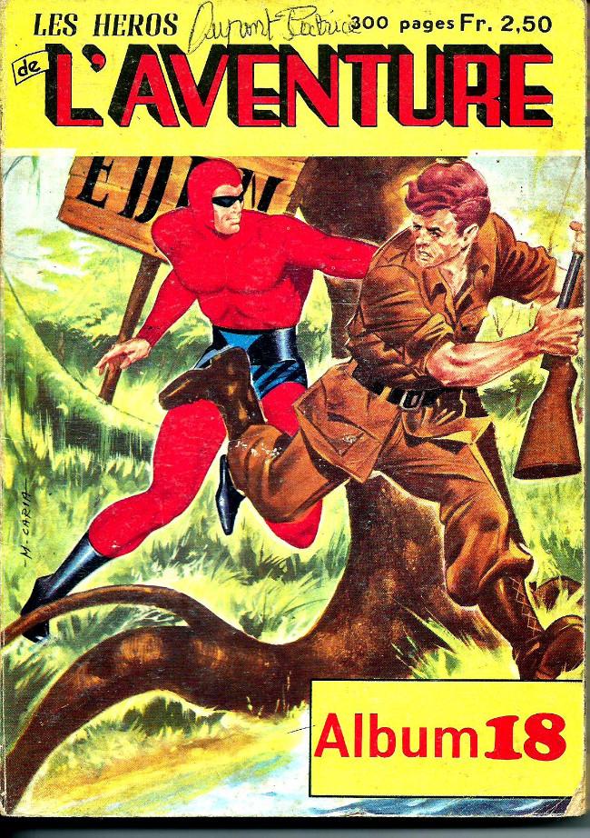 Couverture de Les héros de l'aventure (Classiques de l'aventure, Puis) -Rec18- Album N°18 (du n°52 au n°54)