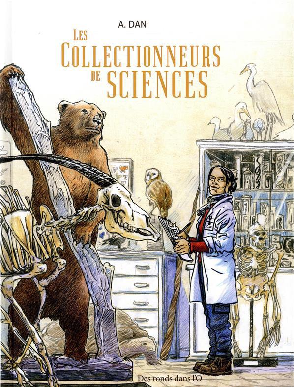 Couverture de Les collectionneurs de sciences