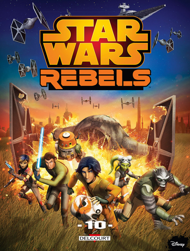 Couverture de Star Wars - Rebels -10- Tome 10