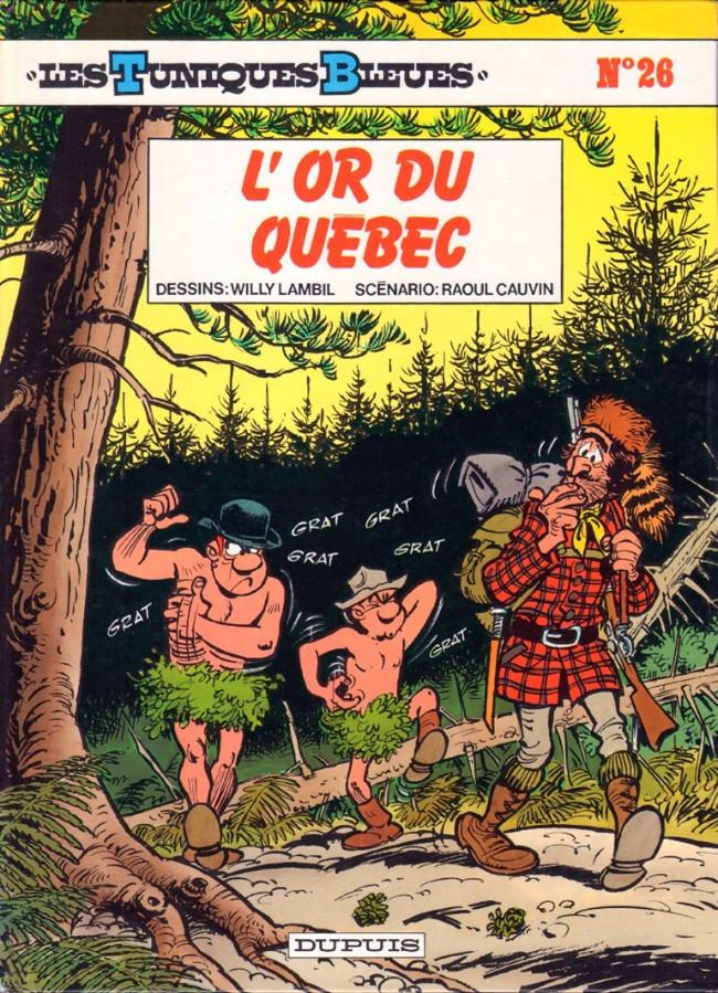 Couverture de Les tuniques Bleues -26- L'or du Québec