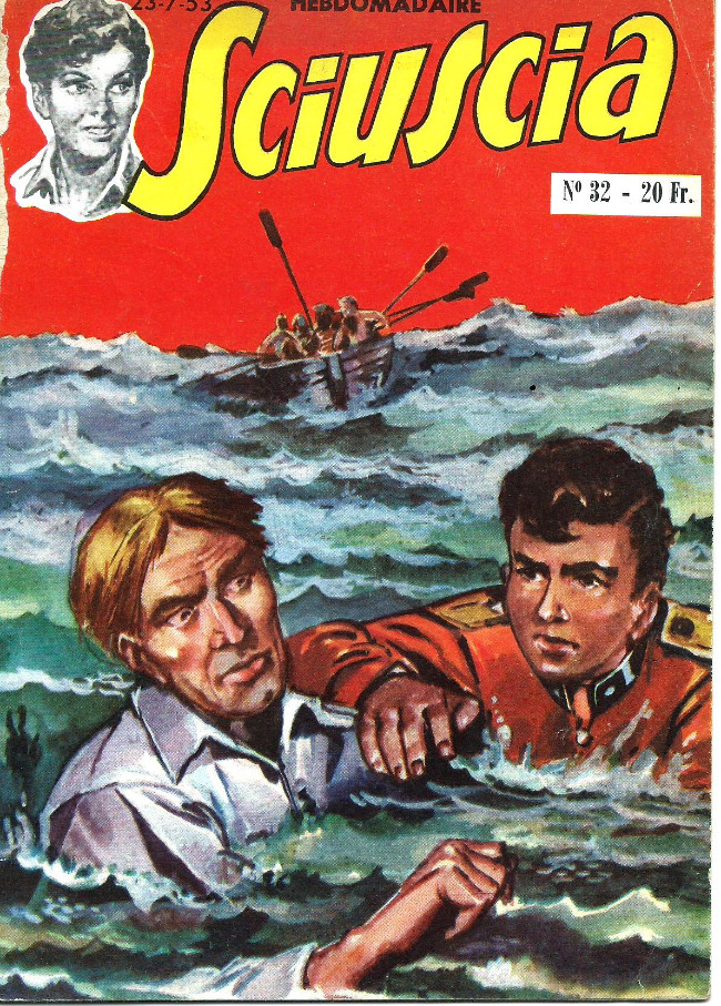 Couverture de Sciuscia (2e série) -32- Le naufrage