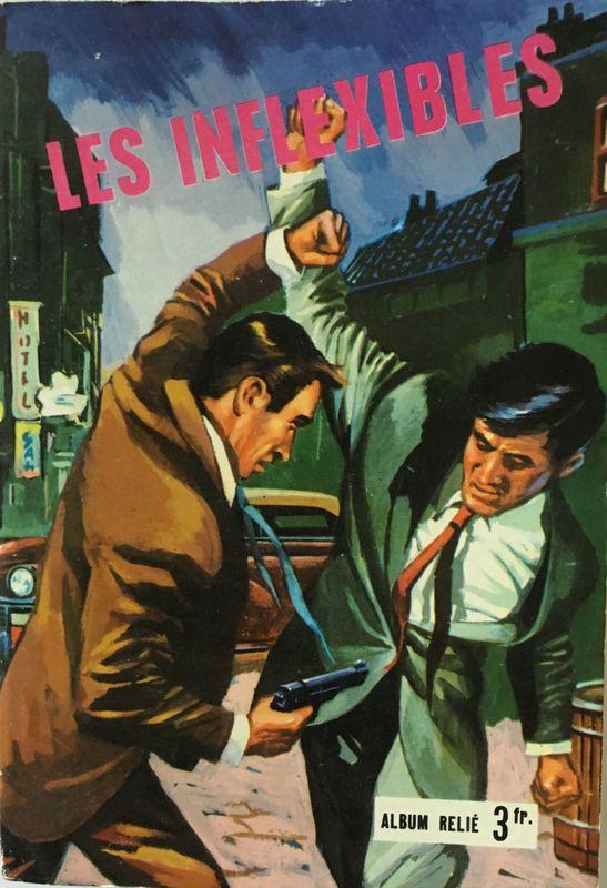 Couverture de Les inflexibles -Rec04- Recueil 4 (n°10, 11 et 12)