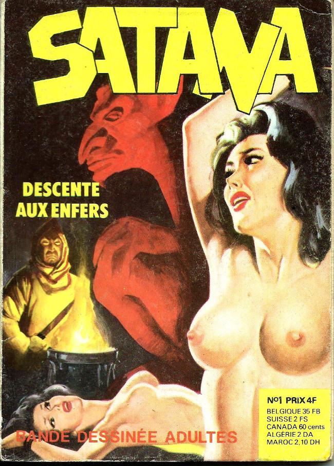 Couverture de Satana (série angoisse) -1- descenta aux enfers