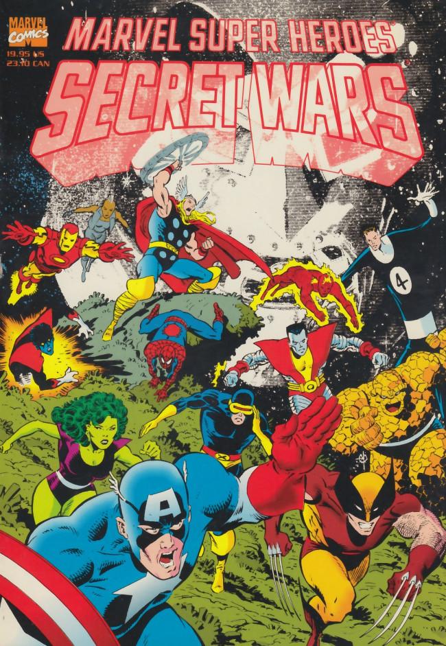 Couverture de Marvel Super-Heroes Secret Wars (1984) -INT- Marvel Super-Heroes Secret Wars
