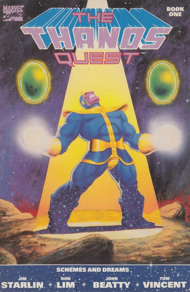 Couverture de Thanos Quest (The) (1990) -1- The Thanos Quest #1
