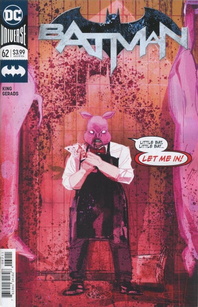 Couverture de Batman (DC Comics - 2016) -62- Knightmares, Part Two